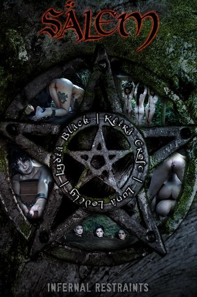 Keira Croft, Luna Lovely, Lydia Black and London River - Salem (HD 720p)