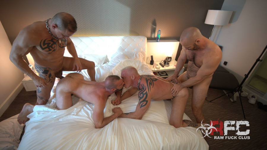 RawFuckClub - Owen Hawk, RC (Ryan Carter), Digger, Donnie Argentoaddy Heaven Part 2