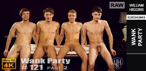 WilliamHiggins - Wank Party #121, Part 2 RAW - WANK PARTY
