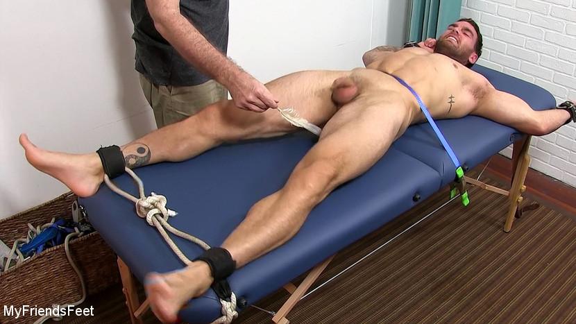 MyFriendsFeet - Chase's Ticklish Massage