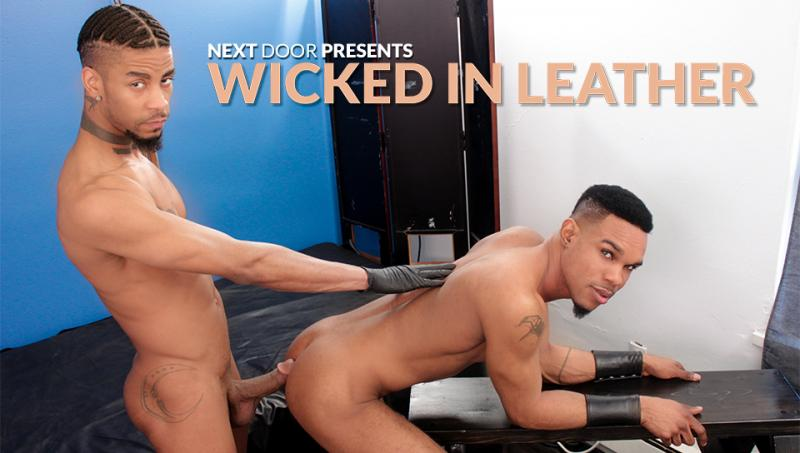 NextDoorEbony - Wicked in Leather - Diaon Starr, Jin Powers