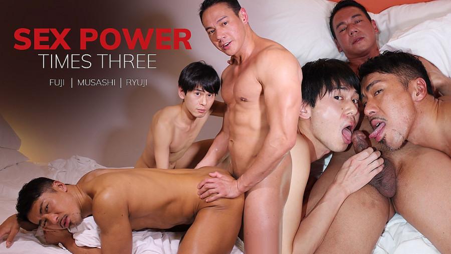 JapanBoyz - Fuji, Musashi, Ryuji - Sex Power Times Three