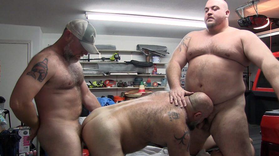 MonsterCub - My Dallas Daddies - Hunter Scott, Luke Cody, Markus Arto, TJ Witten