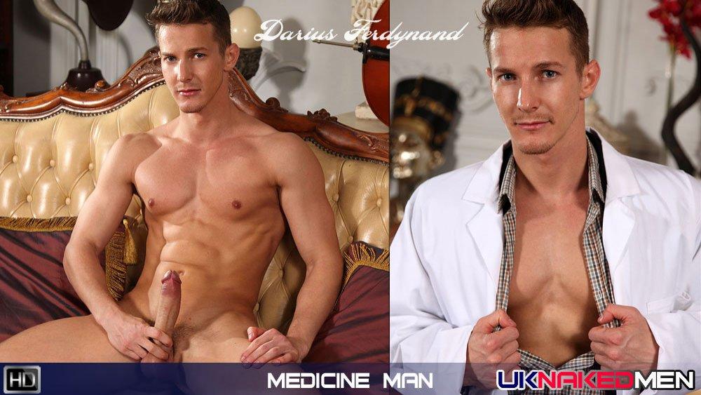 UKNakedMen - Darius Ferdynand - Medicine Man