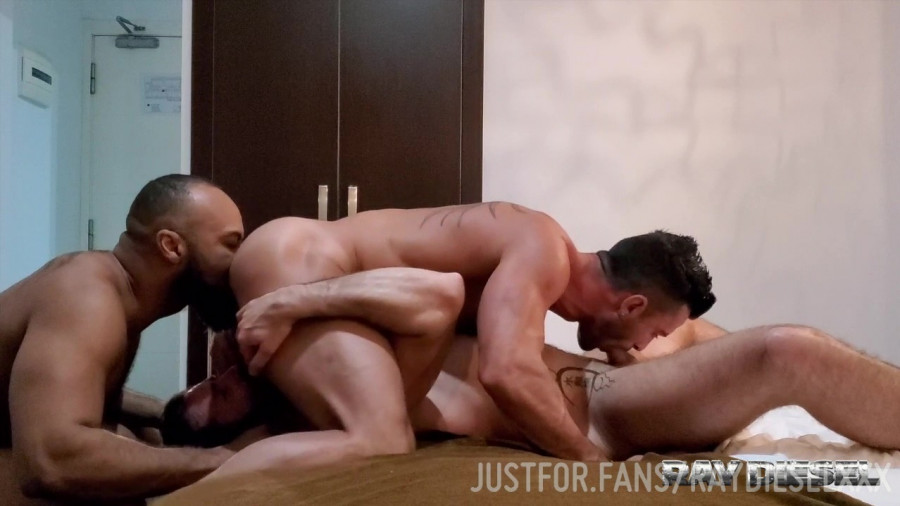 JustForFans - Ray Diesel Hot 3way with Andy Star and Dani Robles
