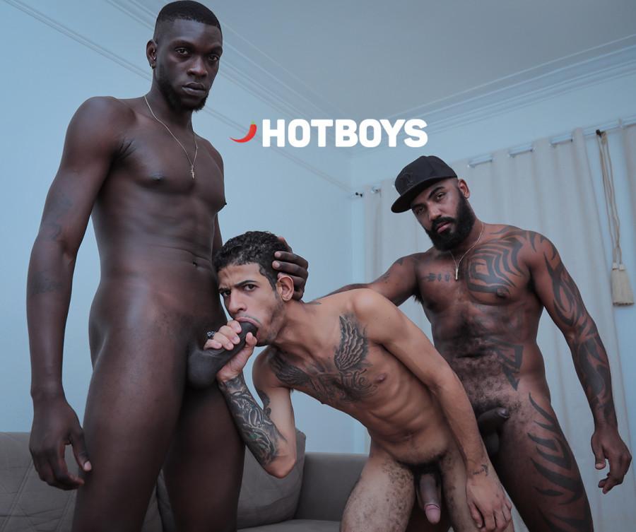 HotBoys - O Trio HOT 9 - Vitor Guedes San Bolt e Michelzinho