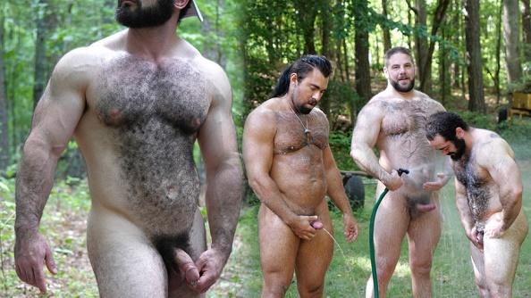 TheGuySite - Vinnie, Steve, Steve Roman - Behind the Scenes Fucking Muscle Bears
