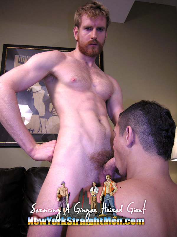 NewYorkStraightMen - Ginger Haired Giant
