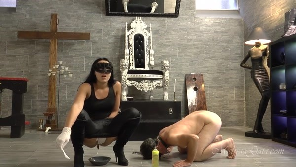 Mistress Gaia - Baby feeding scat slut (2020 / HD 720p)