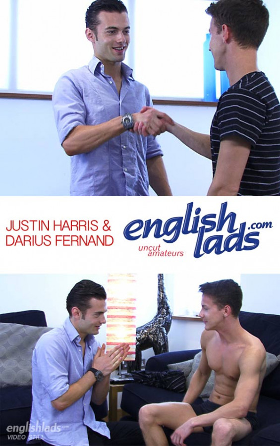 EnglishLads - Darius & Justin Flip Flop - After Some Intense Rimming And Kissing - Darius Ferdynand & Justin Harris