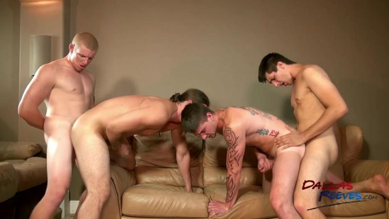 DallasReeves - The Bare Fuck Project - Cage Kafig, Jared King, Kip Johnson and Connor Chesney