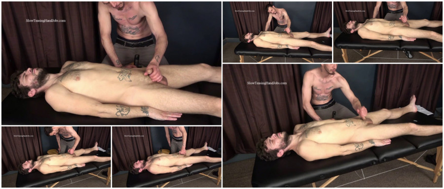 SlowTeasingHandjobs - Straight Billy Gives a Hand Job to His Buddy Nick