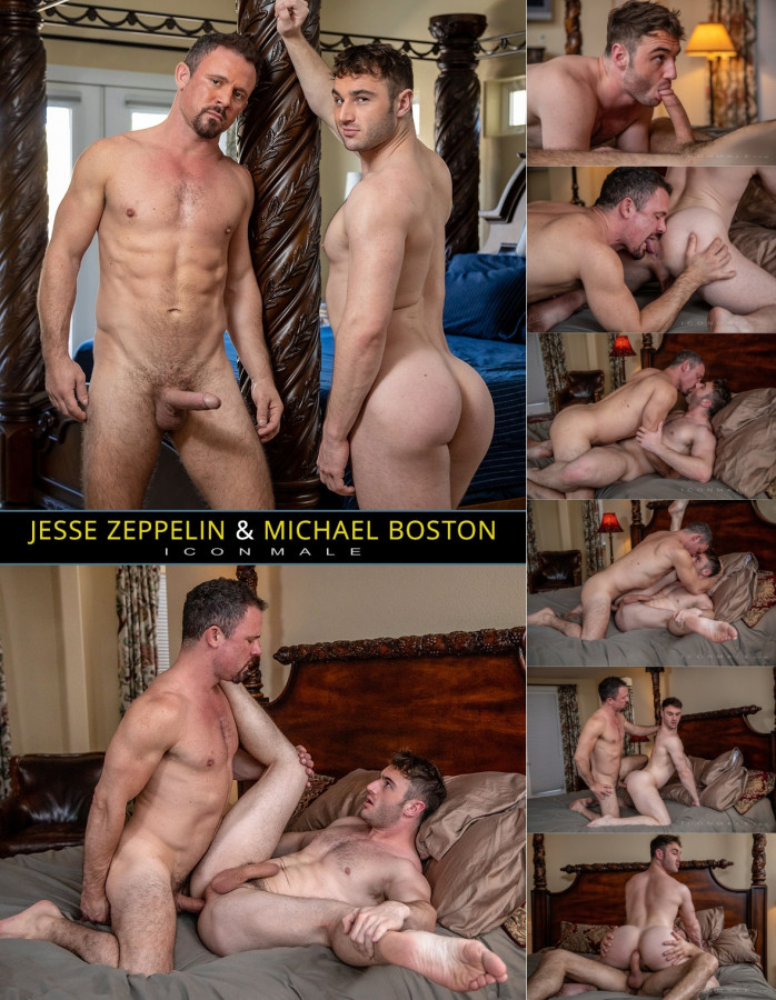 IconMale - Jesse Zeppelin & Michael Boston - Stepdad of the Year