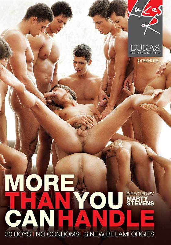 Lukas Ridgeston - More than You Can Handle (720p) (Bareback)