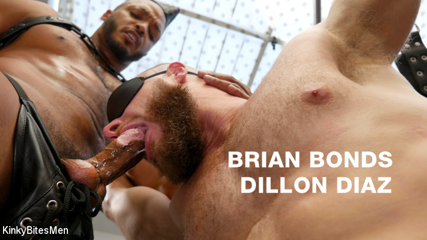KinkyBitesMen - Dillon Diaz and Brian Bonds - Right Where I Want You