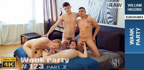 WilliamHiggins - Wank Party #123, Part 2 RAW - WANK PARTY