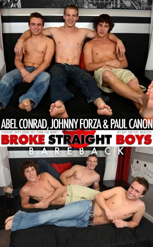 BrokeStraightBoys - Abel Conrad with Johnny Forza & Paul Canon
