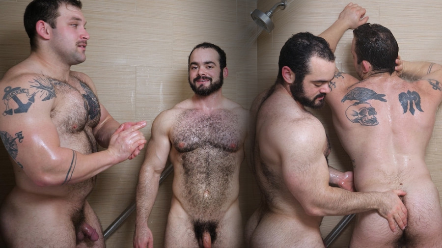 TheGuySite - Jack and Steve in the Shower