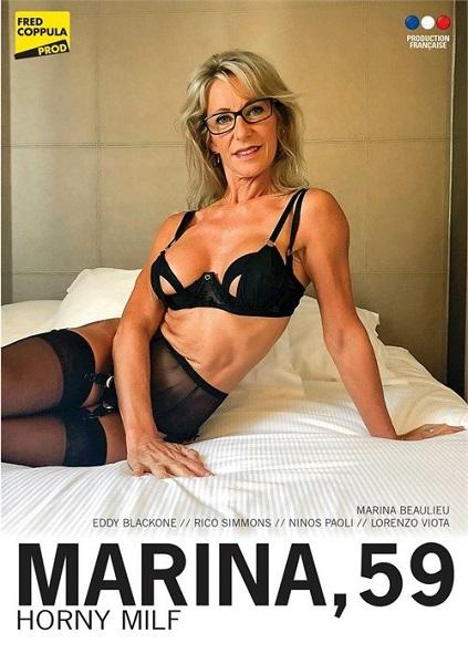 Marina 59 ans, MILF cochonne - Marina, 59 Horny MILF (Year 2020) (HD Rip 720p) Cover