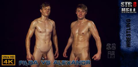 Str8Hell - Filda Daneska vs Alexandr Jander - WRESTLING