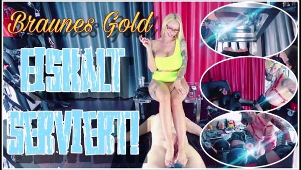 Mistress Jennifer Carter - Brown gold served icecold (2020 / FullHD 1080p)