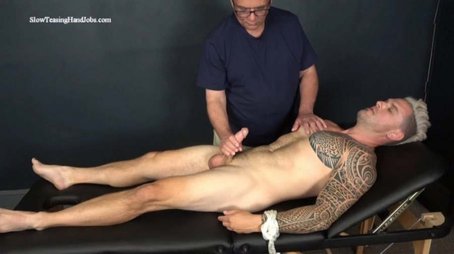 SlowTeasingHandjobs - Muscular Stripper Hand Job