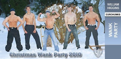WH - Christmas Wank Party 2010 - WANK PARTY