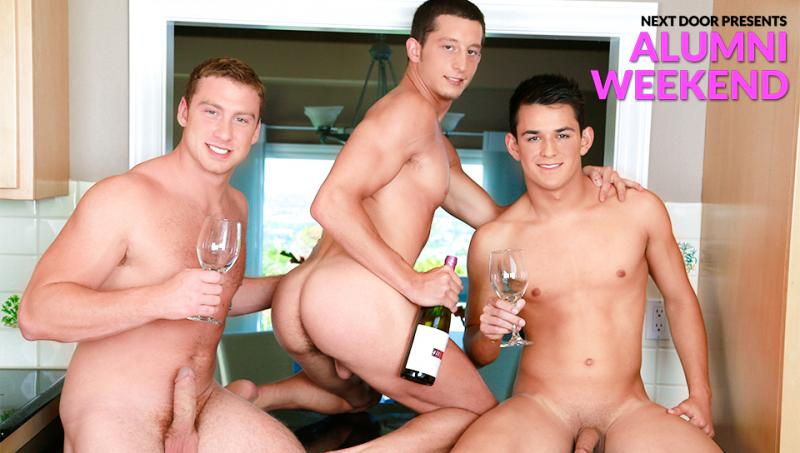 NextDoorBuddies - Connor Maguire, Drake Tyler & Josh Villa - Alumni Weekend