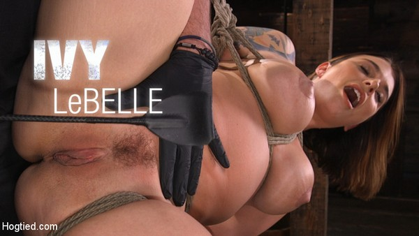 Ivy LeBelle - Curvy Slut in Bondage Tormented and Made to Cum [HogTied.com / 2020 / HD 720p]