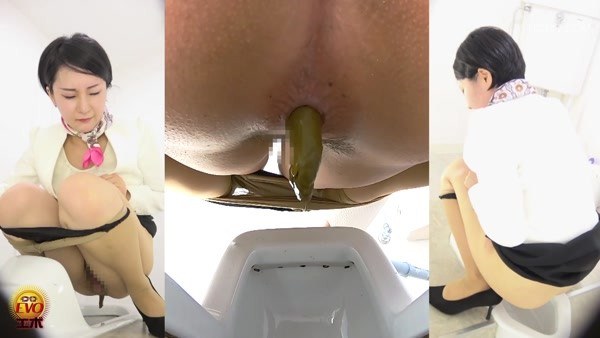 Japanese women poop view from different sides - 3 [FullHD 1080p]