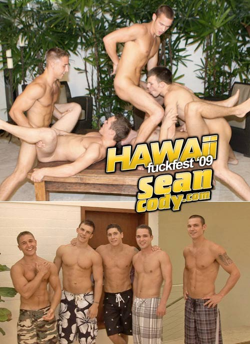 SeanCody - SC0912 - Hawaii Fuckfest - Matt, Isaac, Doug, Keith, Jake