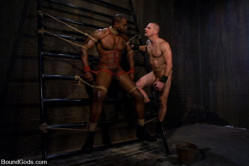 BoundGods - Master Diesel Washington and slave Park Wiley
