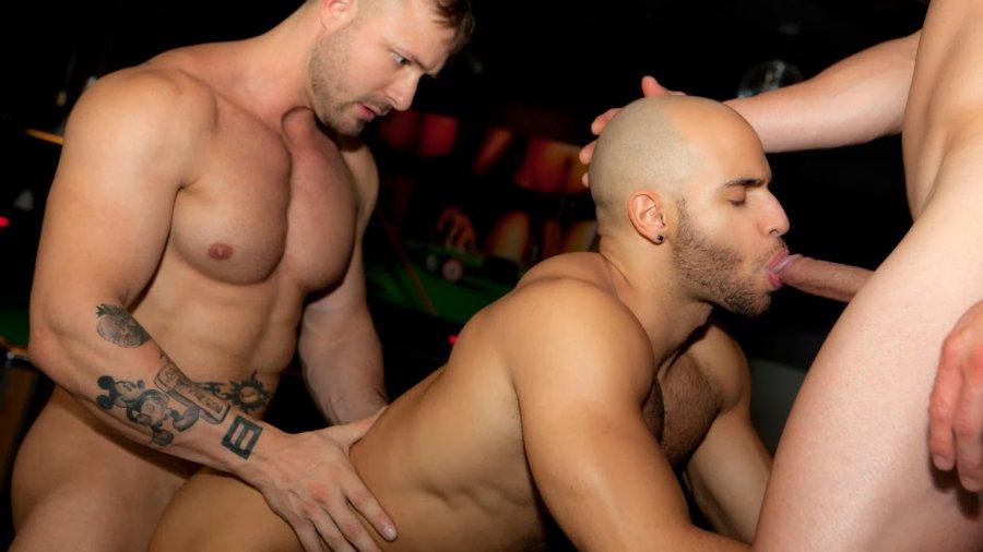 SayUncle X RandyBlue - Sean Zevran, Austin Wolf, Romeo Alfonso - After Party