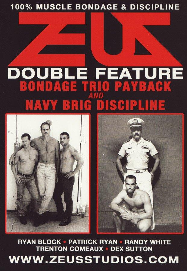 Zeus - Bondage Trio Payback & Navy Brig Discipline