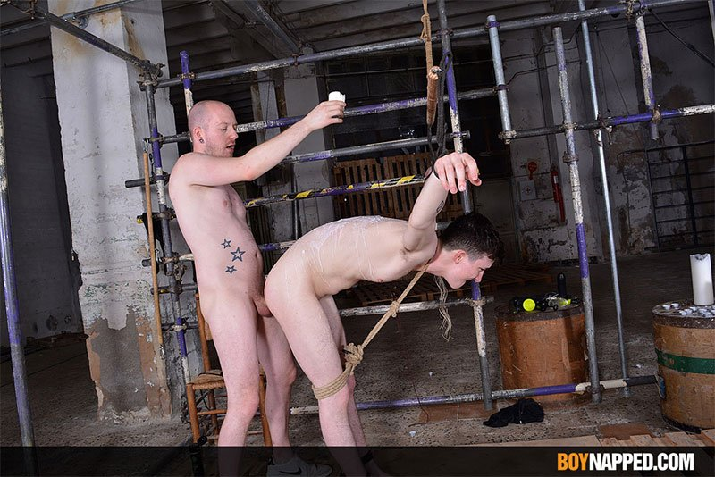 BoyNapped - His Well-Used Hole Is Wet - Part 2