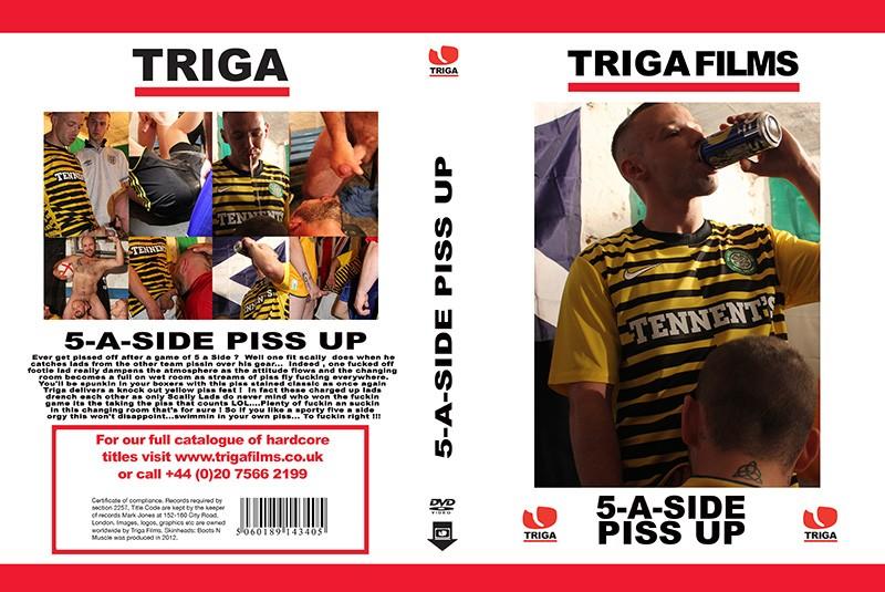 TrigaFilms - 5-A Side Piss up