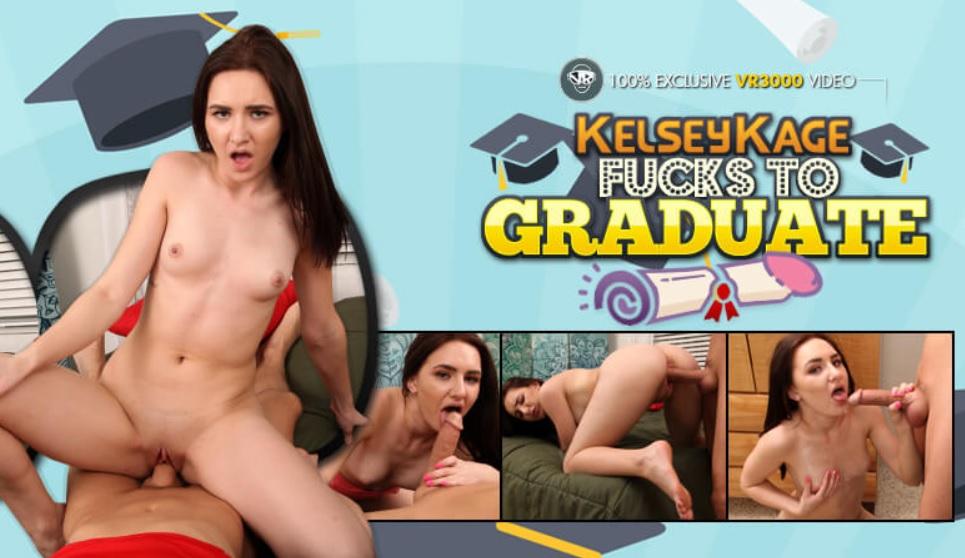 Kelsey Kage Fucks to Graduate, Kelsey Kage, Mar 27, 2019, 3d vr porno, HQ 1920