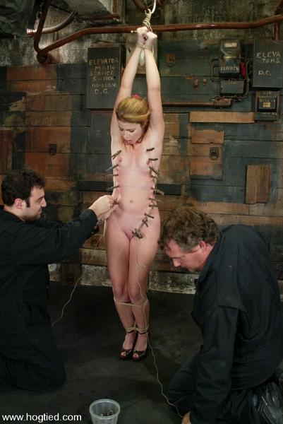 Sarah Blake - BDSM, Bondage and Domination [Hogtied.com / Kink.com / HD 720p]