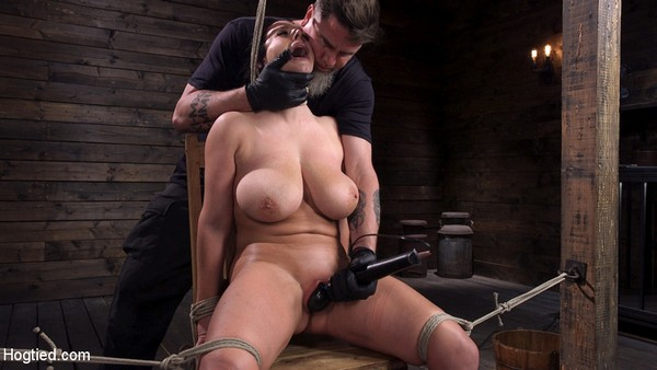 Angela White - BDSM Complete Submission to The Pope [Hogtied.com / Kink.com / HD 720p]