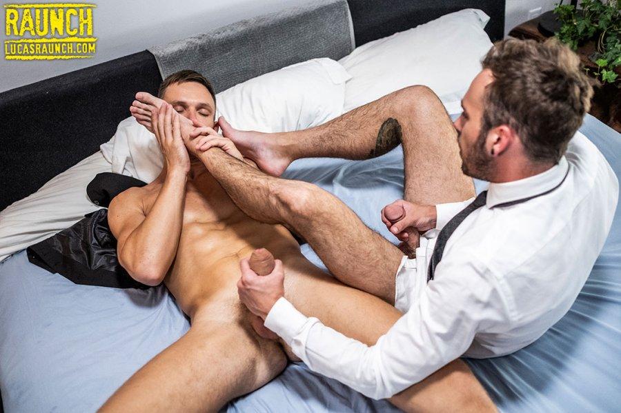 LR - Andrey Vic Worships Drake Rogers Feet