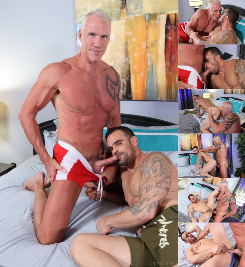 MenOver30 - Damien Crosse & Dallas Steele - I Want It Rough And Raw
