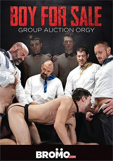 Bromo - Boy For Sale - Group Auction Orgy