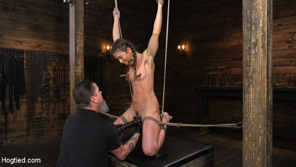 Paige Owens - BDSM, Bondage and Real orgasm - Hot, Young, and Willing to Suffer in Bondage (2020 / HD 720p)