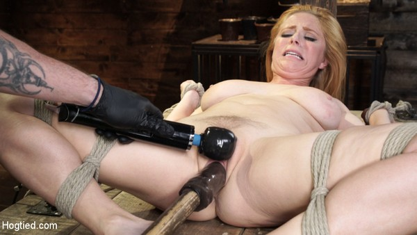 Penny Pax - BDSM, Bondage and Domination - Blue-Eyed Redhead Damsel Tormented in Strict Bondage (2020 / HD 720p)