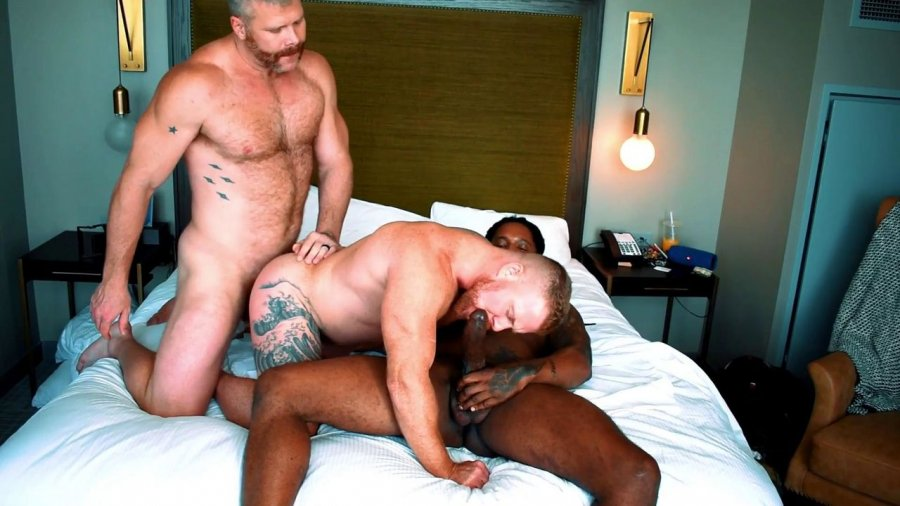 RawFuckClub - Reverse Tag Team with Cain Marko and Mr- Bolden