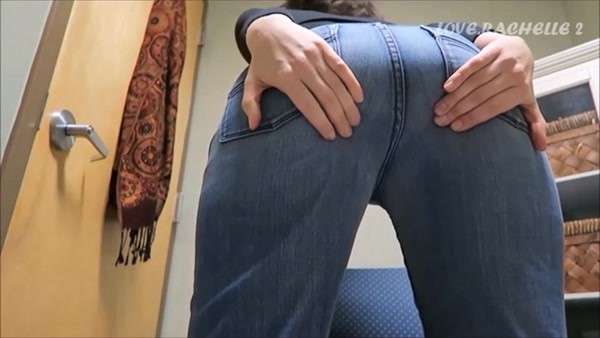 Love Rachelle - Gently stripped off her jeans and let a shitty genie out of her ass! [FullHD 1080p]