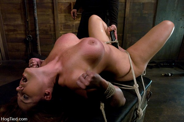 Christina Carter - BDSM, Bondage and Domination - Christine is back for more screaming orgasms (HD 720p)