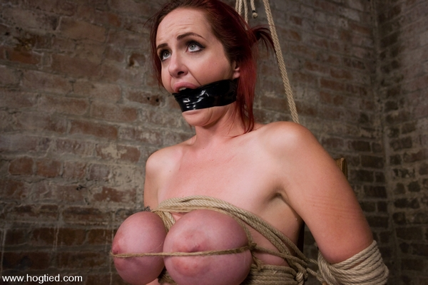 Mz Berlin - Bondage and Domination - Berlin and her huge monsterous, massive breasts are back for hard bondage at its best (HD 720p)