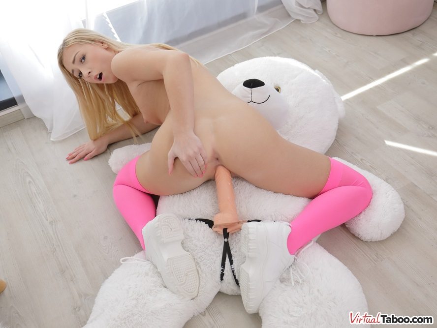 Secret Affair With My Teddy Bear, Jenny Wild, 20 August, 2020, 3d vr porno, HQ 3630