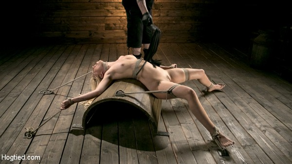 Lyra Law - Bondage and Domination - Sexy Blonde Mistres Submits to Rope Bondage and Suffering (HD 720p)